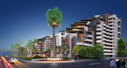 Apartments for sale in Antalya with direct sea view - Sanis Blue